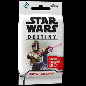 STAR WARS DESTINY - COVERT MISSIONS BOOSTER