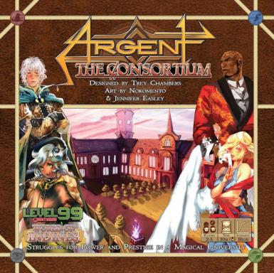ARGENT THE CONSORTIUM - CORE GAME 2ND EDITION