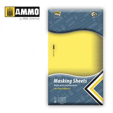 AMMO: 8043 - MASKING SHEETS