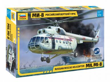 7254 - MIL MI-8 RESCUE HELICOPTER 1/72