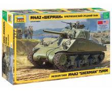 3702 - M4 A2 SHERMAN 1/35