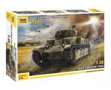 5064 - T-28 SOVIET TANK 1/72