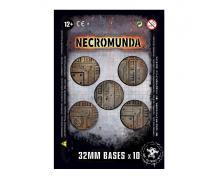 ACC - NECROMUNDA 32MM BASES (X10)
