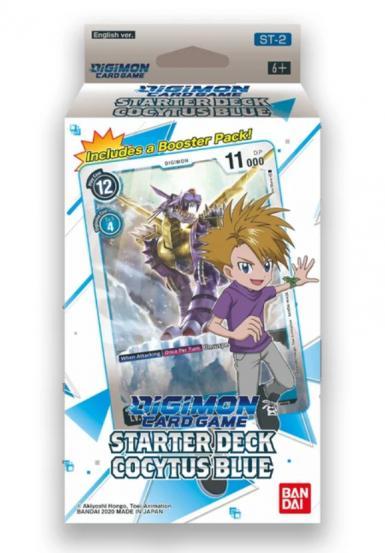 DIGIMON CG - STARTER DECK COCYTUS BLUE ST-2