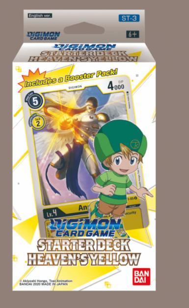 DIGIMON CG - STARTER DECK HEAVEN'S YELLOW ST-3