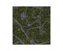 KRAKEN WARGAMES GAMING MAT - ANCIENT GREEN 44X30