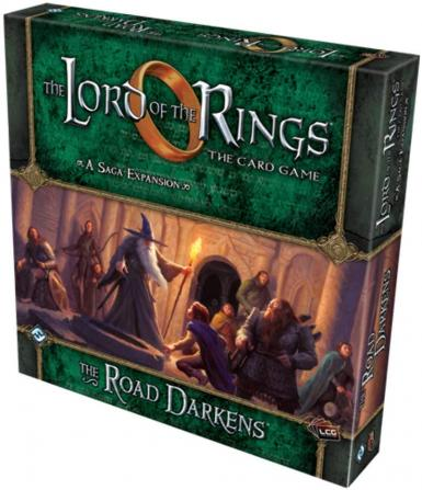 LORD OF THE RINGS LCG - THE ROAD DARKENS EXPANSION