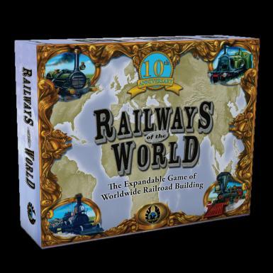 RAILWAYS OF THE WORLD 10TH ANNIVERSARY ED.
