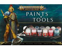 AGE OF SIGMAR - PAINTS+TOOLS