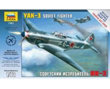ZV: 7301 - YAKOVLEV YAK-3 SOVIET FIGHTER 1/72