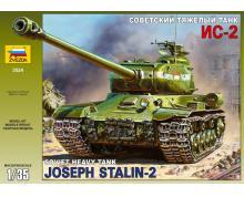 3524 - IS-2 SOVIET HEAVY TANK 1/35