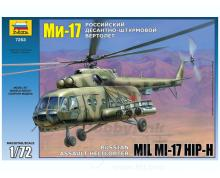 ZV: 7253 - MIL MI-17 RUSSIAN HELICOPTER 1/72