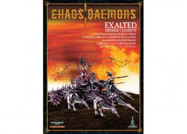 DAEMONS OF CHAOS - EXALTED SEEKER CHARIOT /SLAANESH