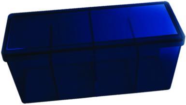 4 COMPARTMENT STORAGE BOX DS - BLUE