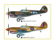 5801 – P-40E KITTY HAWK FIGHTER 1/48