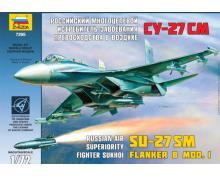 ZV: 7295 - SU-27 SM FLANKER B 1/72