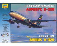 ZV: 7003 - AIRBUS 1-320 CIVIL AIRLINER 1/144