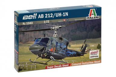 IT: 1343 - AB 212/UH-1N 1/72