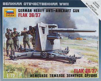 6158 - GER.88mm FLAK 36/37 1/72