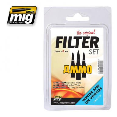 AMMO: 7450 - FILTER SET FOR WINTER AND UN VEHICLES