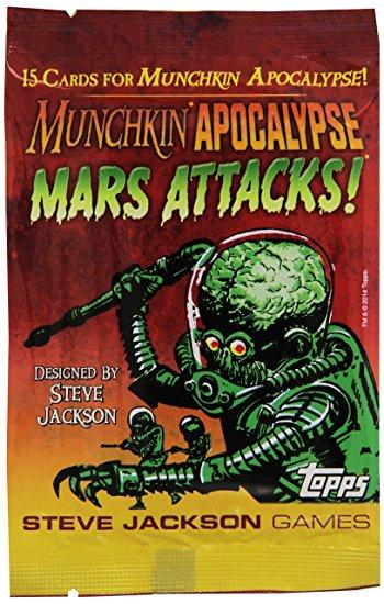 MUNCHKIN APOCALYPSE - MARS ATTACKS