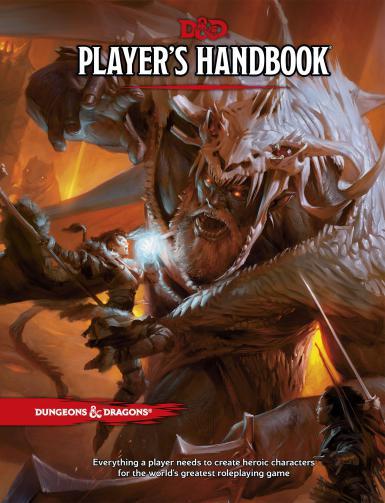 DUNGEONS & DRAGONS 5.0 - PLAYERS HANDBOOK