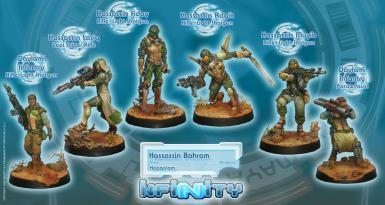 HAQQISLAM - STARTER PACK HASSASSIN BAHRAM (BOX)