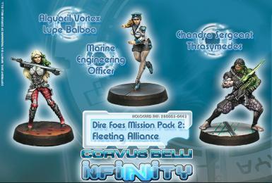 MISSION PACK - DIRE FOES 2: FLEETING ALIANCE (BOX)