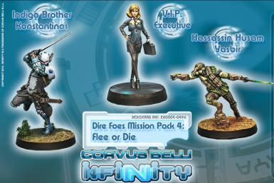 MISSION PACK - DIRE FOES 4: FLEE OR DIE (BOX)