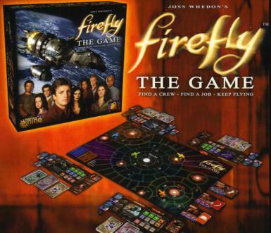 FIREFLY BOARD GAME 2015