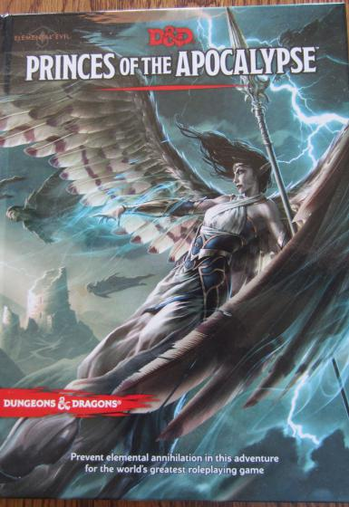DUNGEONS & DRAGONS 5.0 - PRINCES OF THE APOCALYPSE