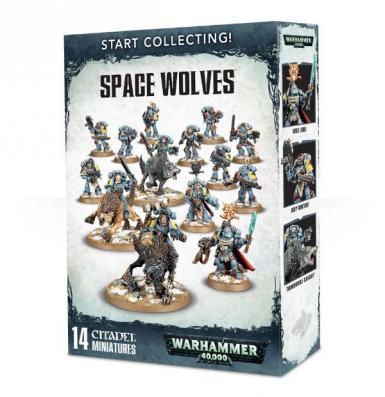 START COLLECTING! - SPACE WOLVES (BOX)