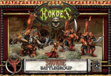 HORDES - SKORNE - BATTLEGROUP (BOX)