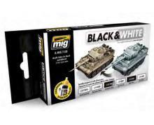 AMMO: 7128 - BLACK & WHITE TECHNIQUE SET