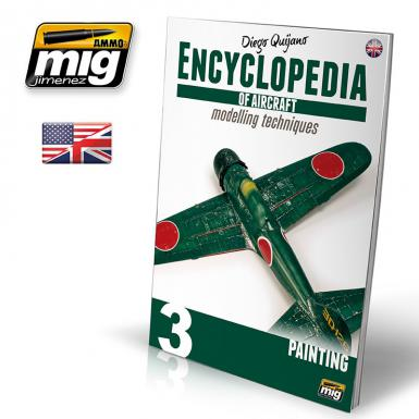 6052 - ENCYCLOPEDIA OF AIRCRAFT MODELLING TECHNIQUES - VOL.3 - PAINTING ENGLISH (BOOK)