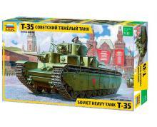 ZV: 3667 - T-35 HEAVY SOVIET TANK 1/35