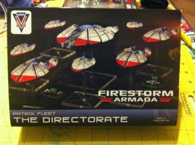FIRESTORM ARMADA - DIRECTORATE PATROL FLEET