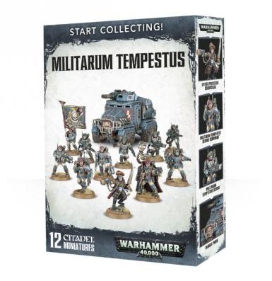 START COLLECTING! - MILITARUM TEMPESTUS (BOX)