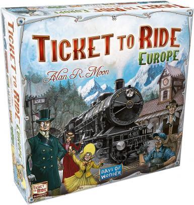 TICKET TO RIDE EUROPE (HR)