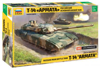 ZV: 3670 - RUSSIAN.MODERN TANK T-14 ARMATA 1/35