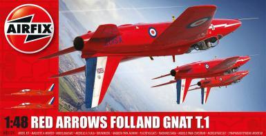 AIR: 5124 - RED ARROWS FOLLAND GNAT T.1 1/72