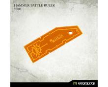 RULER - HAMMER BATTLE RULER ORANGE