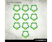 MARKER - WOUND MARKERS GREEN