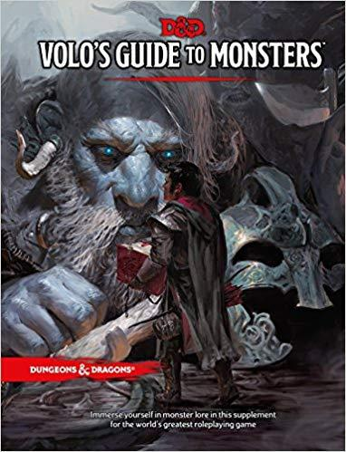 DUNGEONS & DRAGONS 5.0 - VOLO'S GUIDE TO MONSTERS