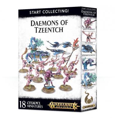 DAEMONS OF TZEENTCH - START COLLECTING! DAEMONS OF TZEENTCH (BOX)