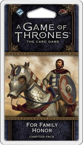 A GAME OF THRONES LCG 2ND. ED. - FOR FAMILY HONOR CHAPTER PACK