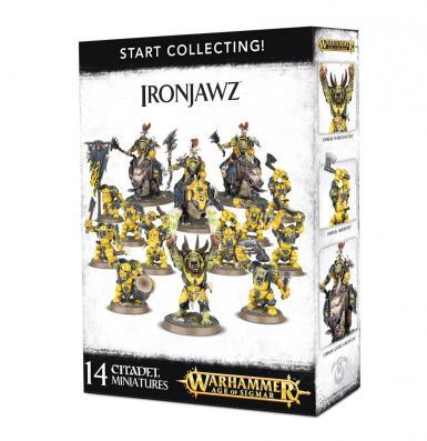 START COLLECTING! IRONJAWZ (BOX)