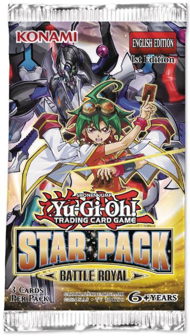 STAR PACK BATTLE ROYAL 2017