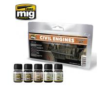 AMMO: 7146 - CIVIL ENGINES WEATHERING SET