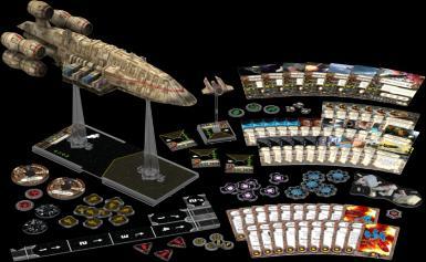 STAR WARS X-WING MIN. - C-ROC CRUISER EXPANSION